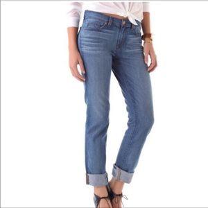 J Brand Caleb Boyfriend Jeans size 27 light wash
